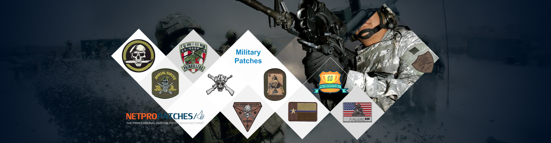 Custom Military and Army Patches For Sale