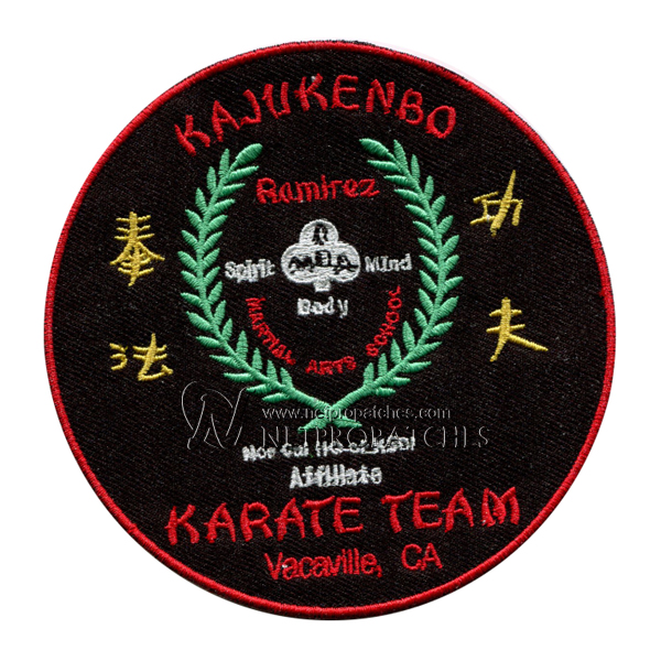Martial art Patches