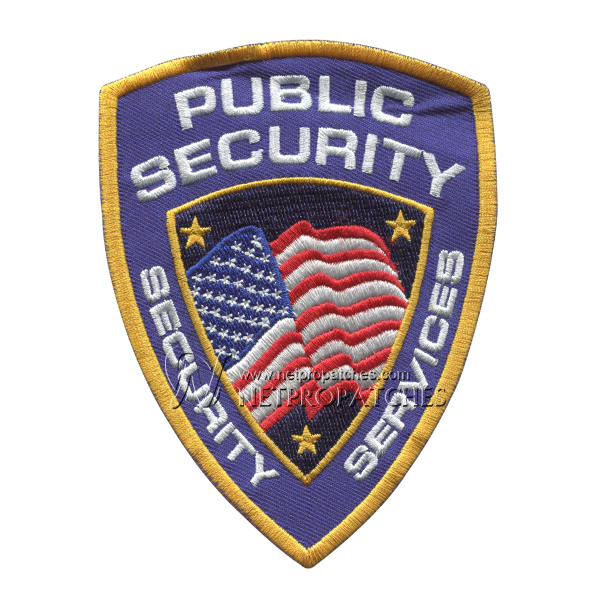 Police & Security Patches